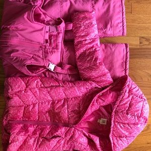 Girls Gap winter coat and London fog snow pants